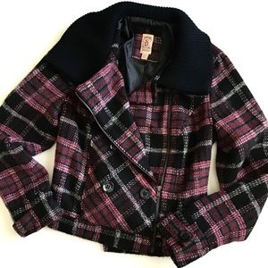 Decree Plaid Jacket